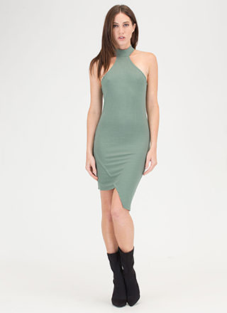 Racer To The Finish Asymmetrical Dress