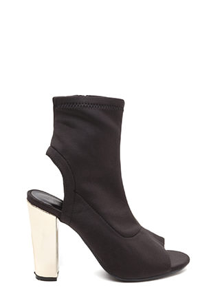 Sleek Preview Cut-Out Booties