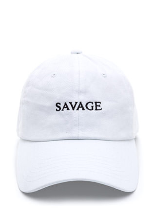 Savage Comeback Baseball Hat