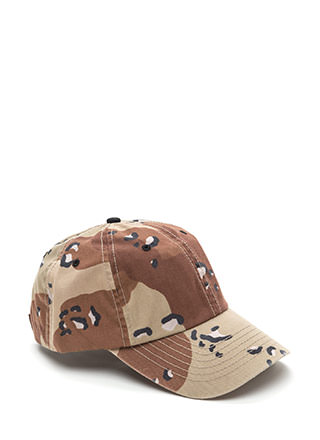 Combat Mode Camo Baseball Hat