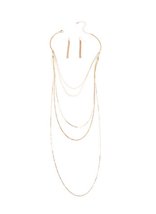 Most Valuable Layer Chain Necklace Set