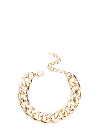 Statement Chain-ge Curb Link Bracelet