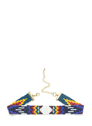 Tribe Vibes Slim Beaded Choker