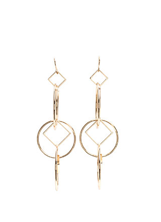 Get In Shape Interlocked Earrings