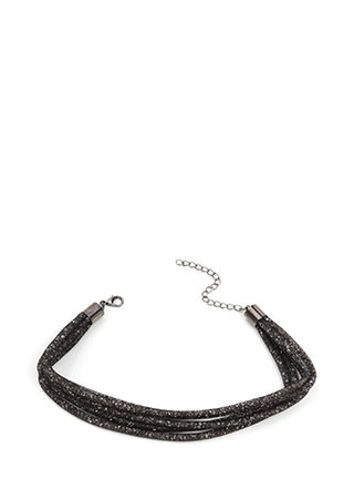 Jewels Rule Mesh Cord Choker