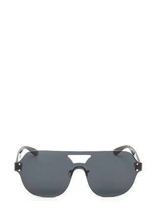 Flight School Frameless Sunglasses