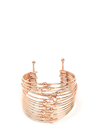 Spring In Your Step Stacked Cuff