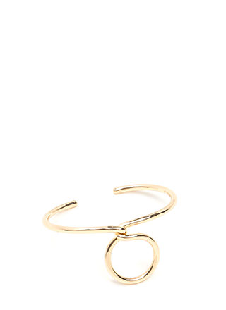 Find A Loophole Twisted Cuff