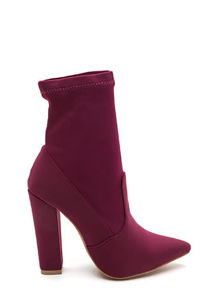 Chic In The City Pointy Booties