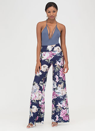 Grow With It Wide Palazzo Pants