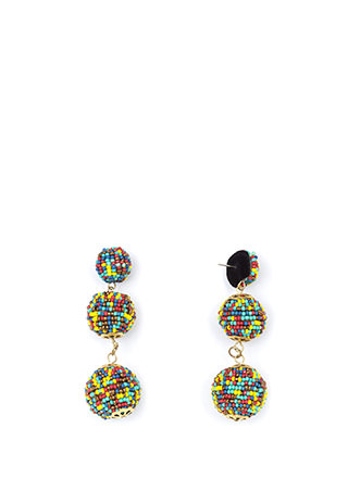 Bead You To It Ball Earrings