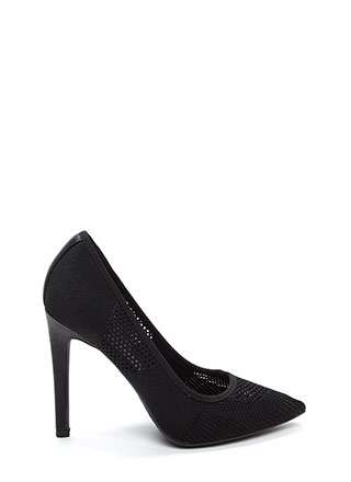 Be-Weave In Yourself Pointy Heels