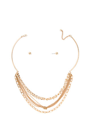 Top Of The Chain Necklace Set