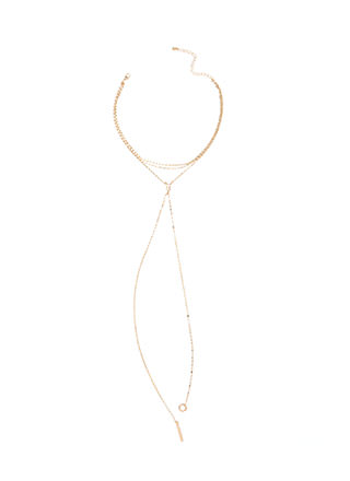 Favorite Feature Layered Y-Necklace