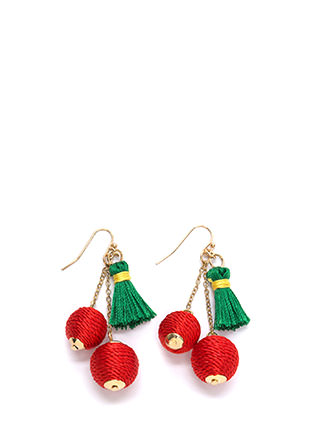 Belle Of The Ball Tassel Earrings
