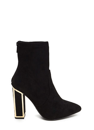 Booties - Lace-Up Ankle Boots, Heel & Wedge Booties