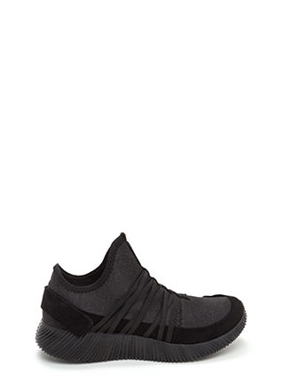 All Strapped In Laced Slip-On Sneakers