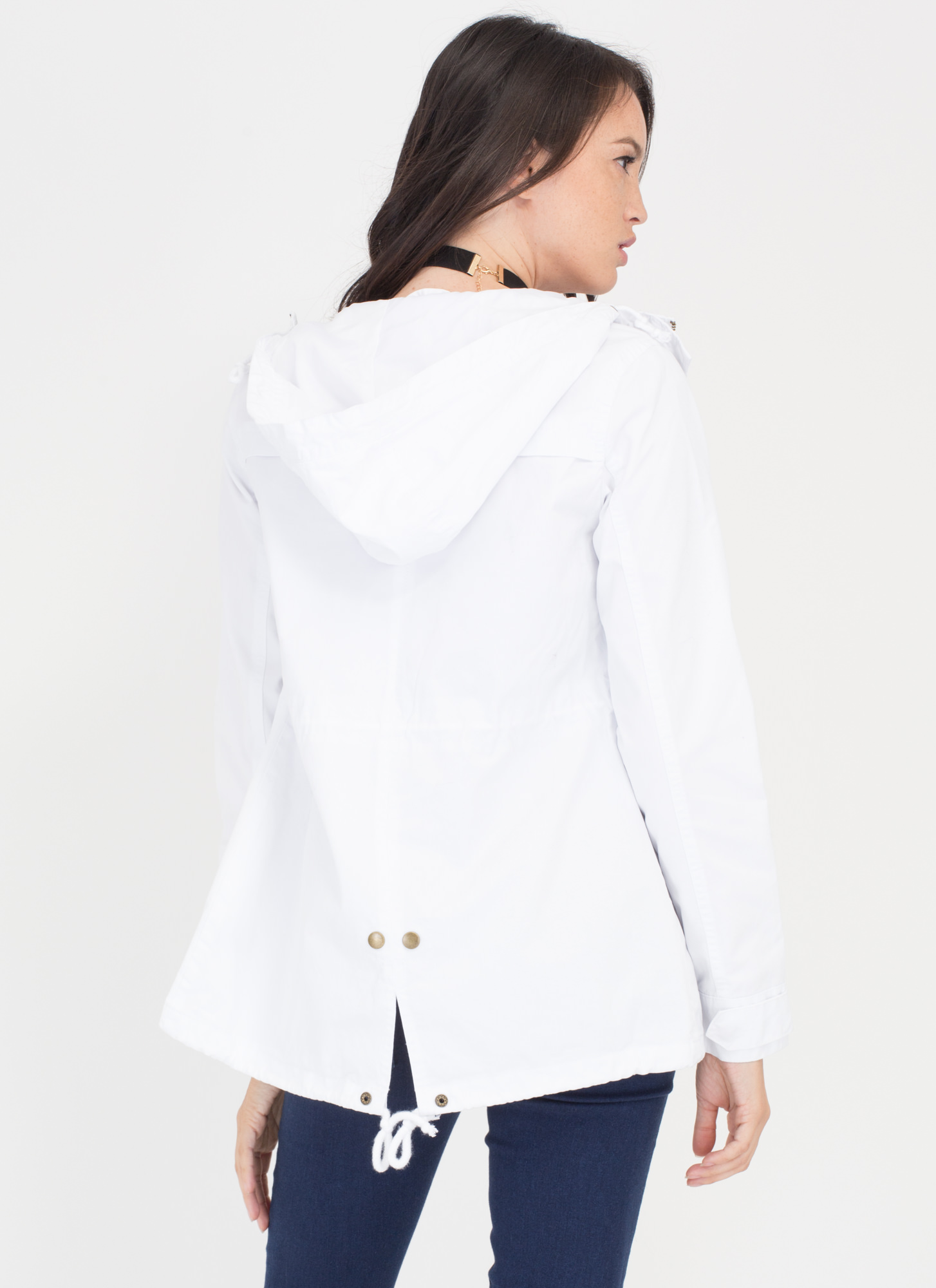 Play The Field Jacket WHITE
