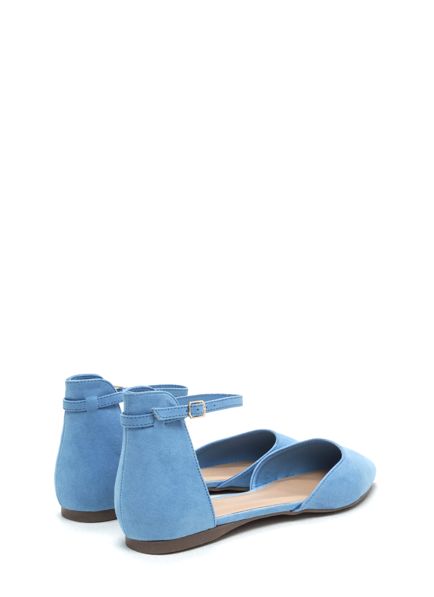 Day By Day D'Orsay Flats BLUE