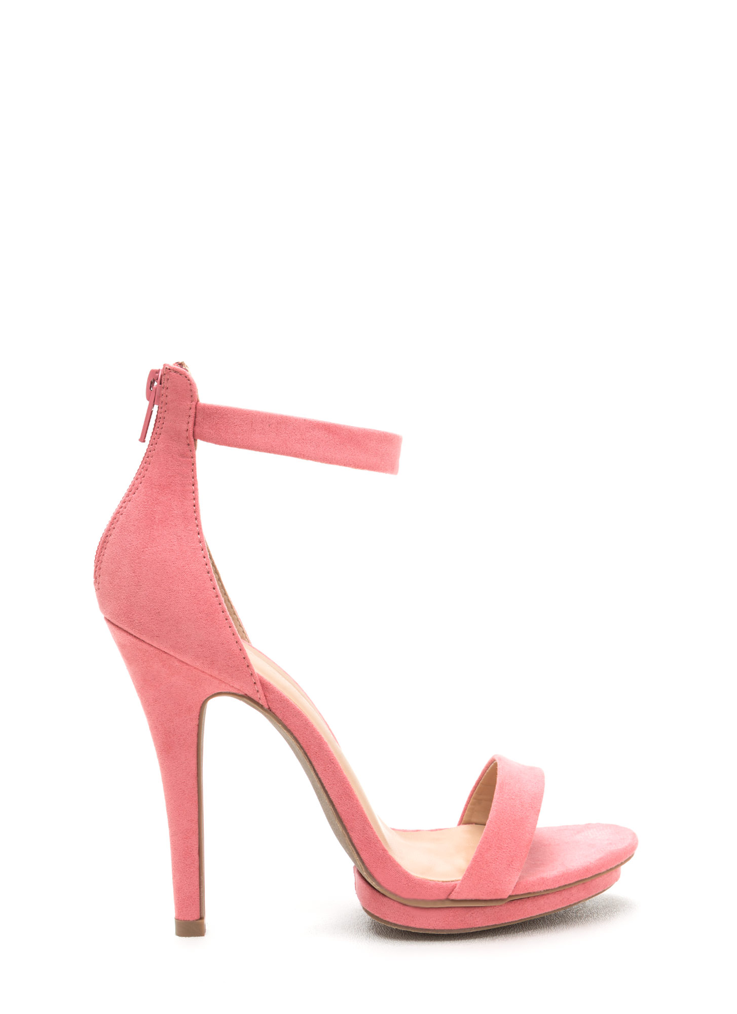 Living Single Stacked Platform Heels