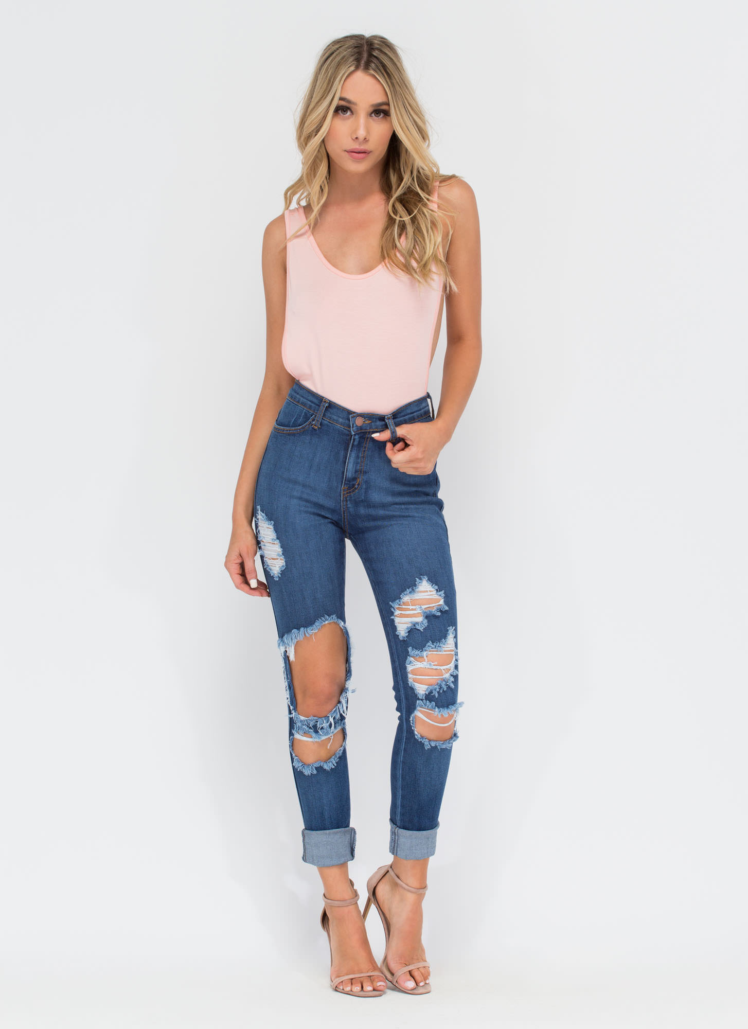Wanted Muscle Bodysuit BLUSH