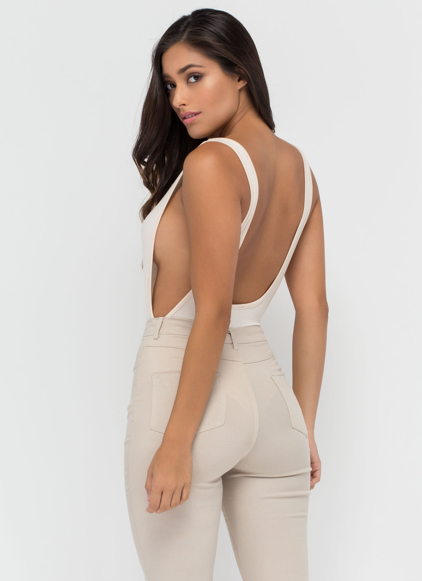 Wanted Muscle Bodysuit NUDE