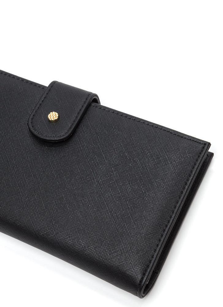 Two Become One Wallet Clutch BLACK (Final Sale)