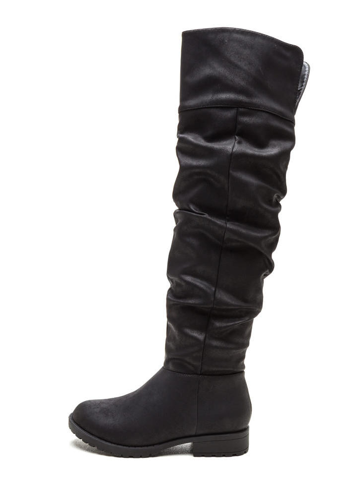 Ground Level Faux Nubuck Boots
