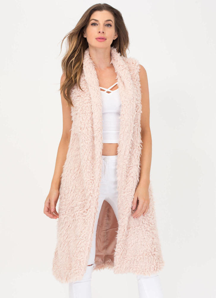 Touch Of Luxury Faux Fur Vest
