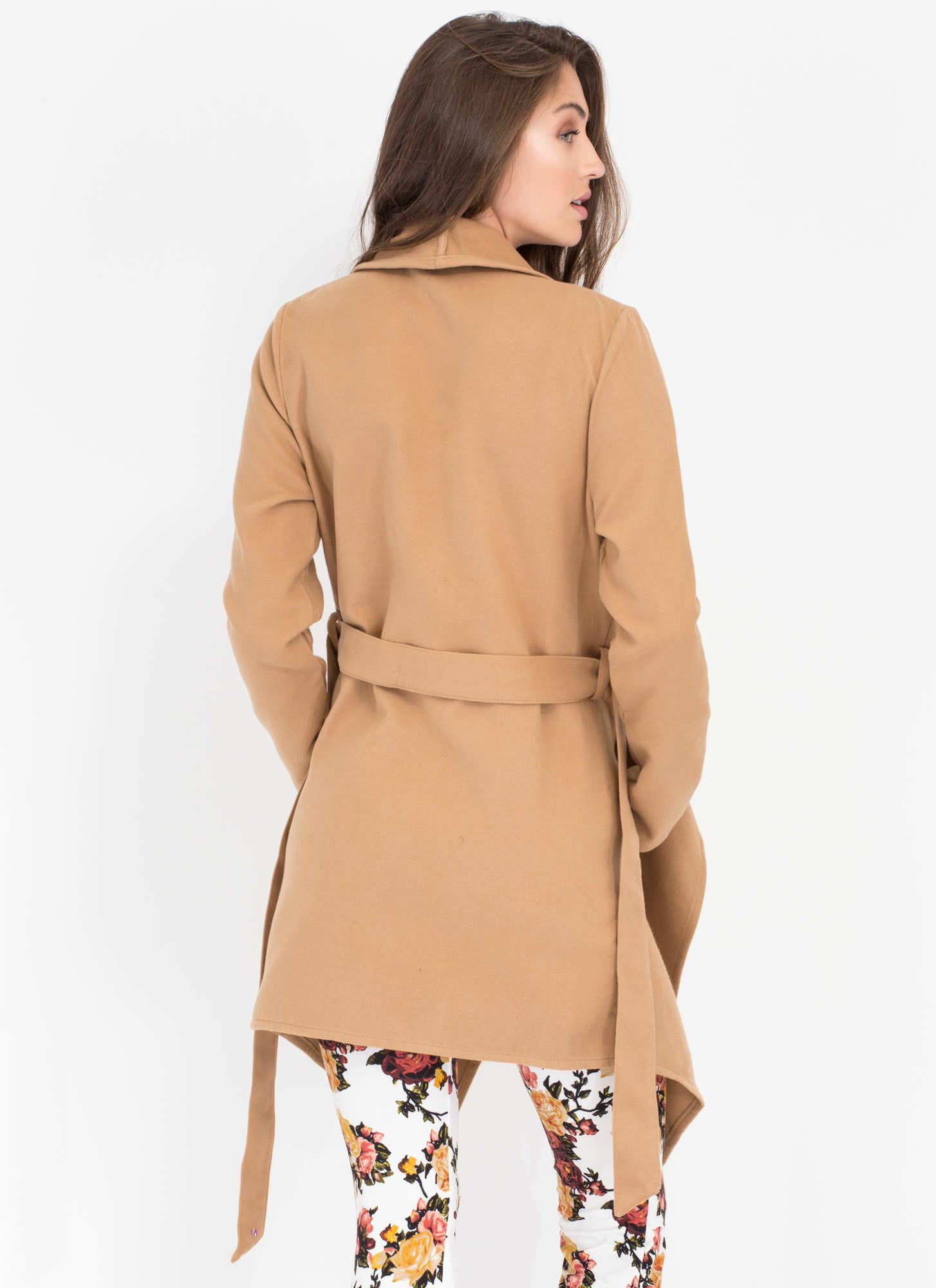 Flasher Forward Trench Coat KHAKI