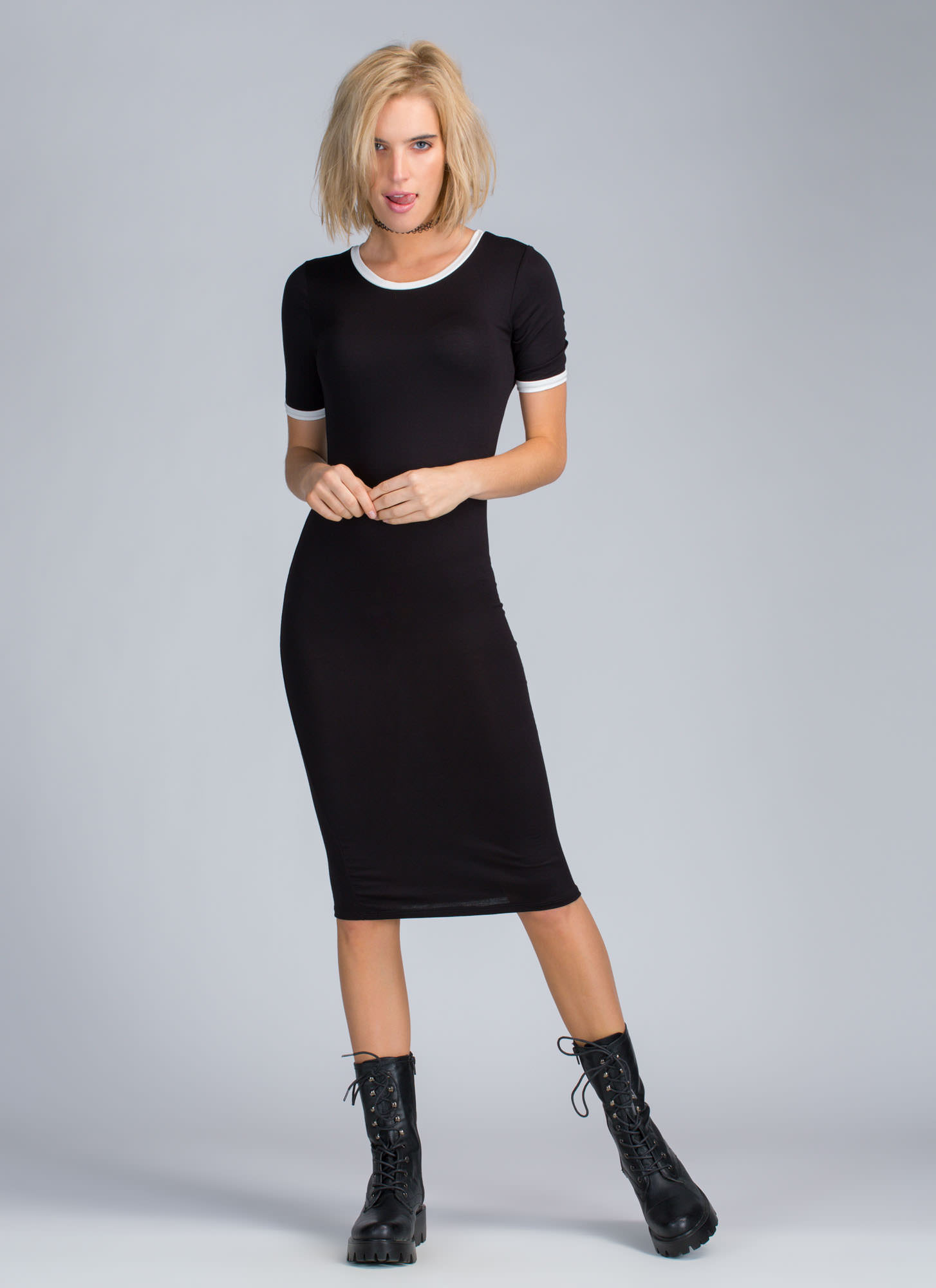 Athleisure Time T-Shirt Dress