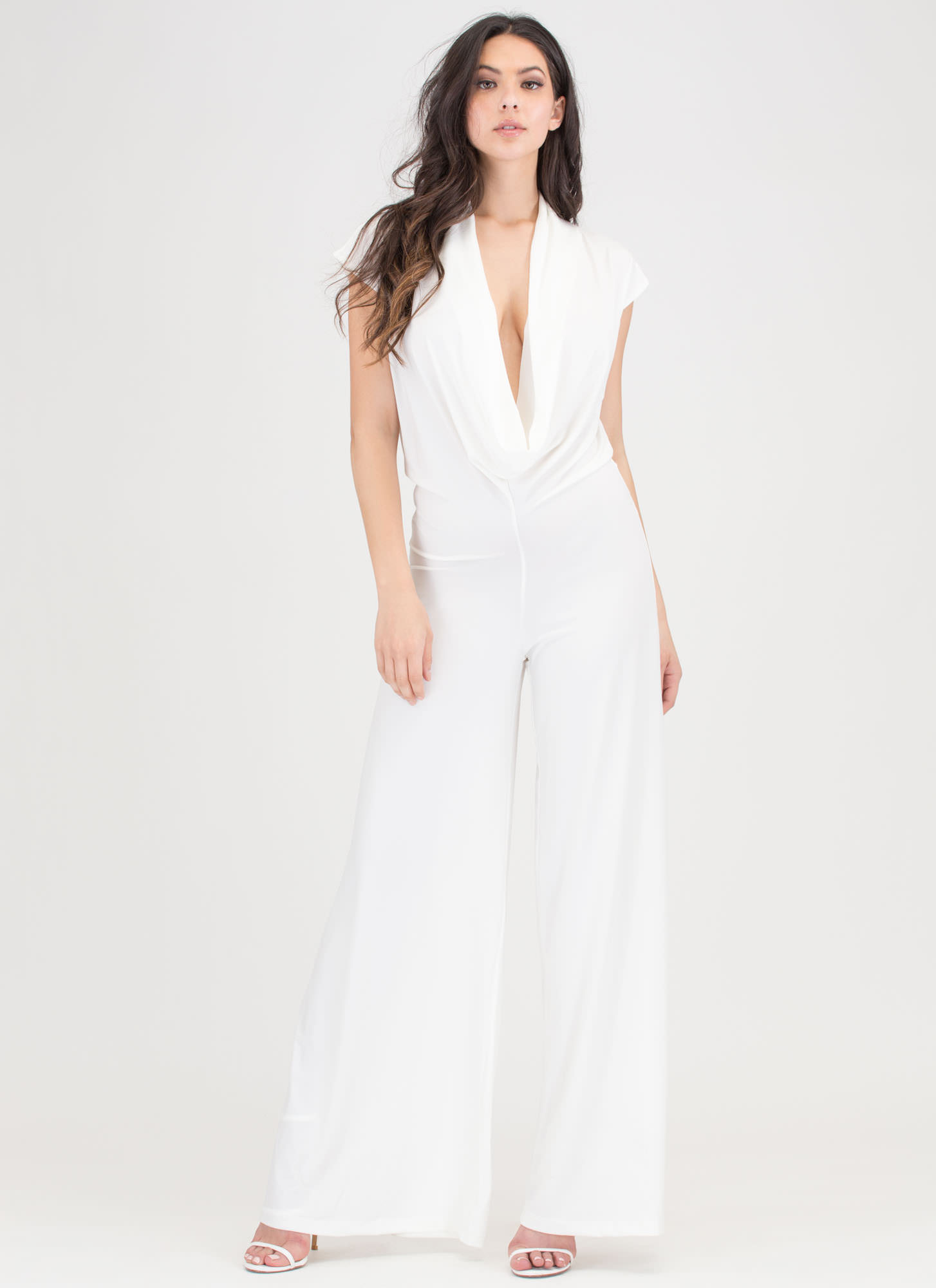 Very Tempting Wide Leg Jumpsuit