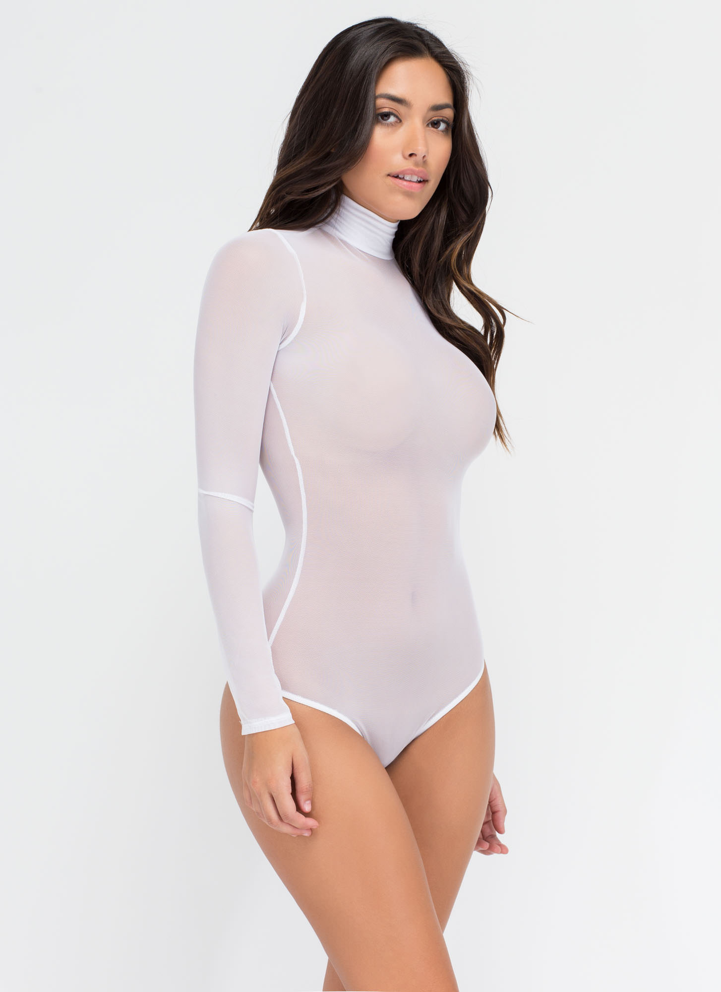 Sheer The View Bodysuit