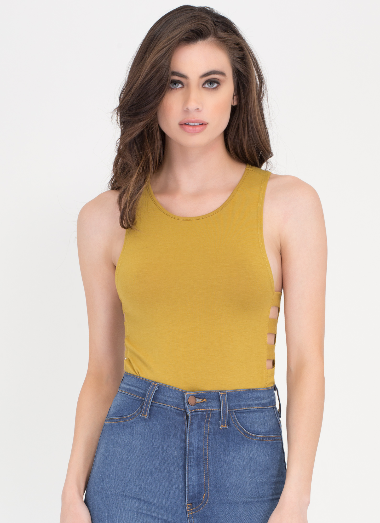 Climb Down Cut-Out Tank DKCITRON