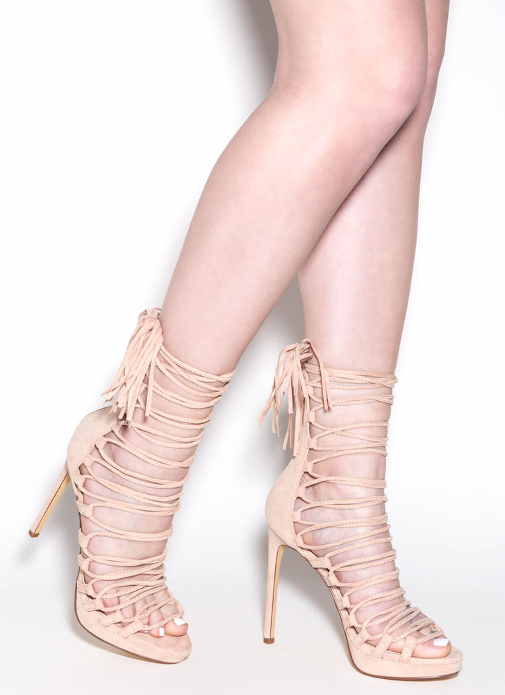 Impossibly Cool Lace-Up Heels