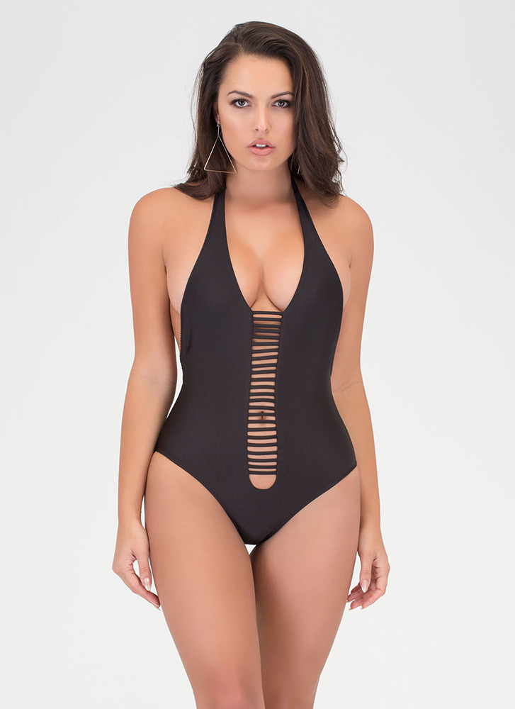Body Goals Strappy One-Piece Swimsuit