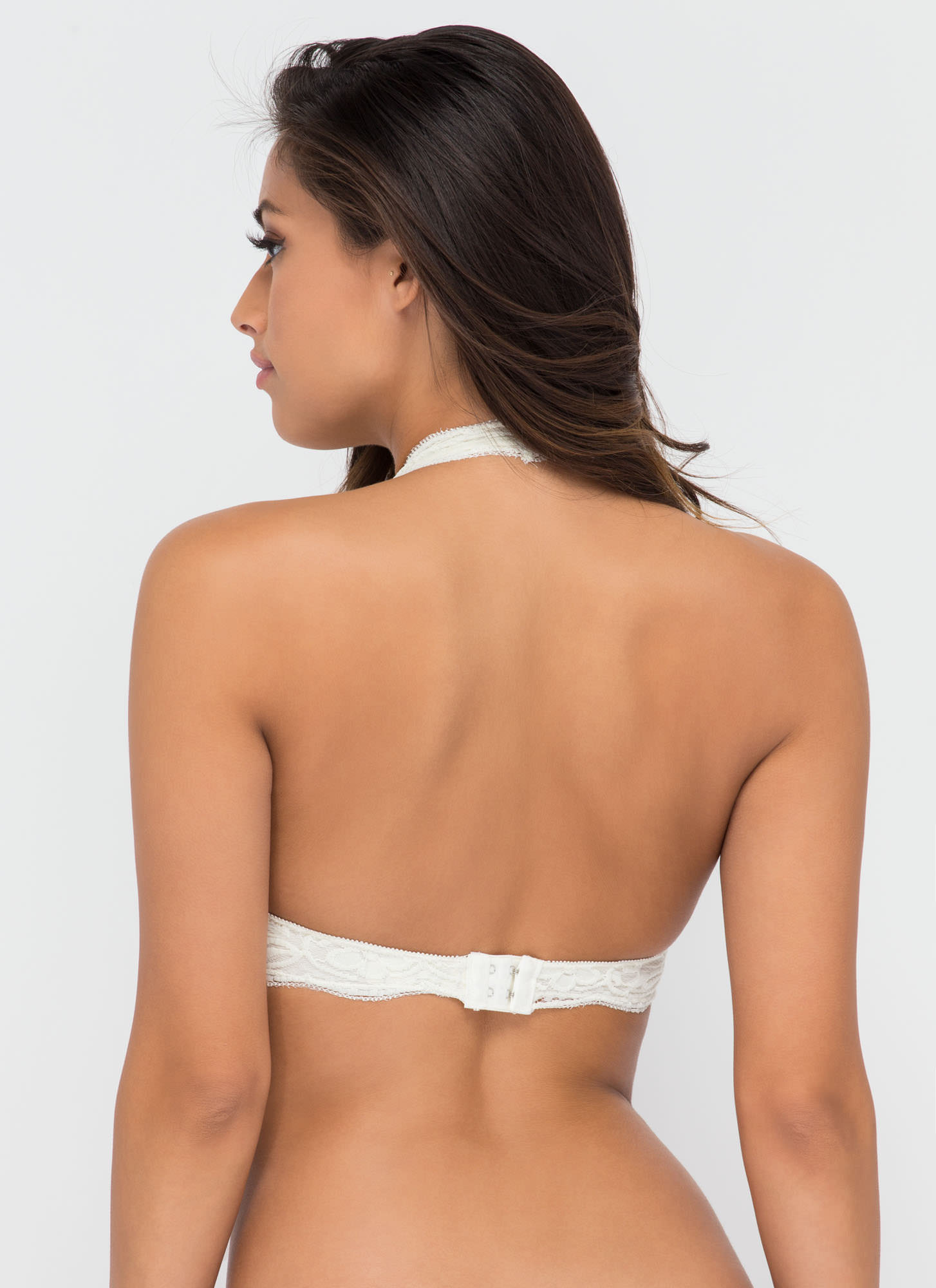 Frill Of The Chase Lace Bralette IVORY (Final Sale)