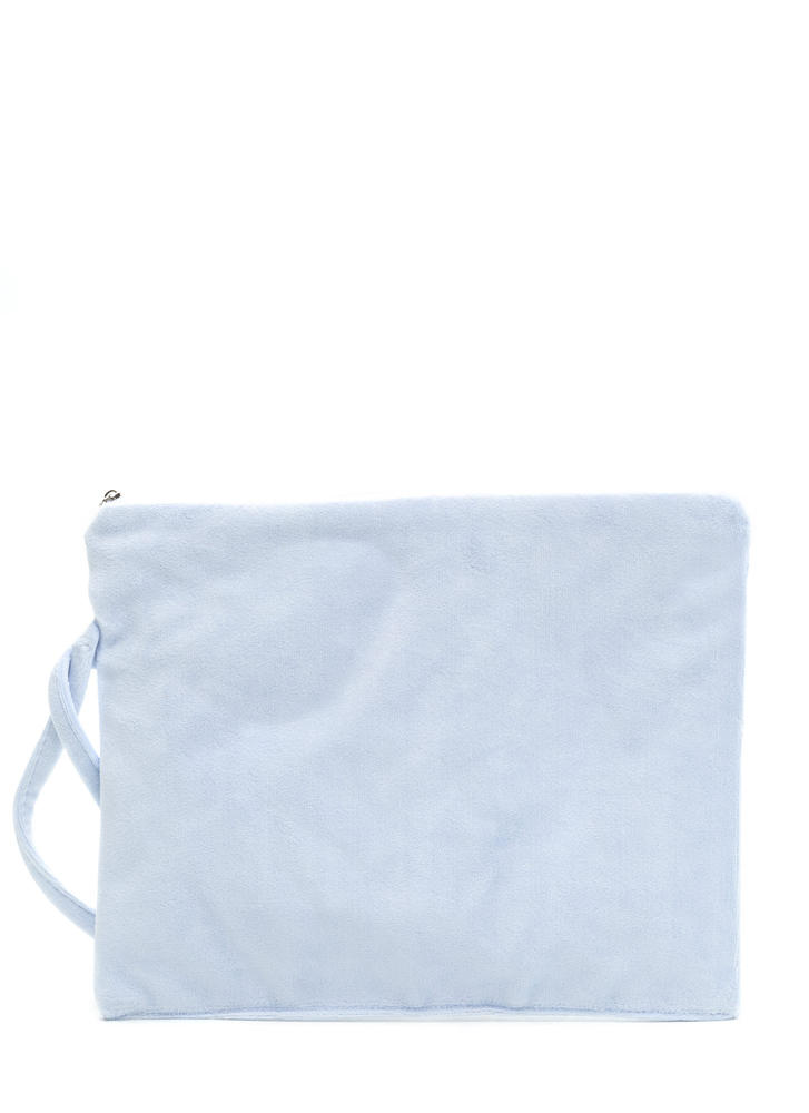 Just Add Water Wet Swimsuit Bag BLUE