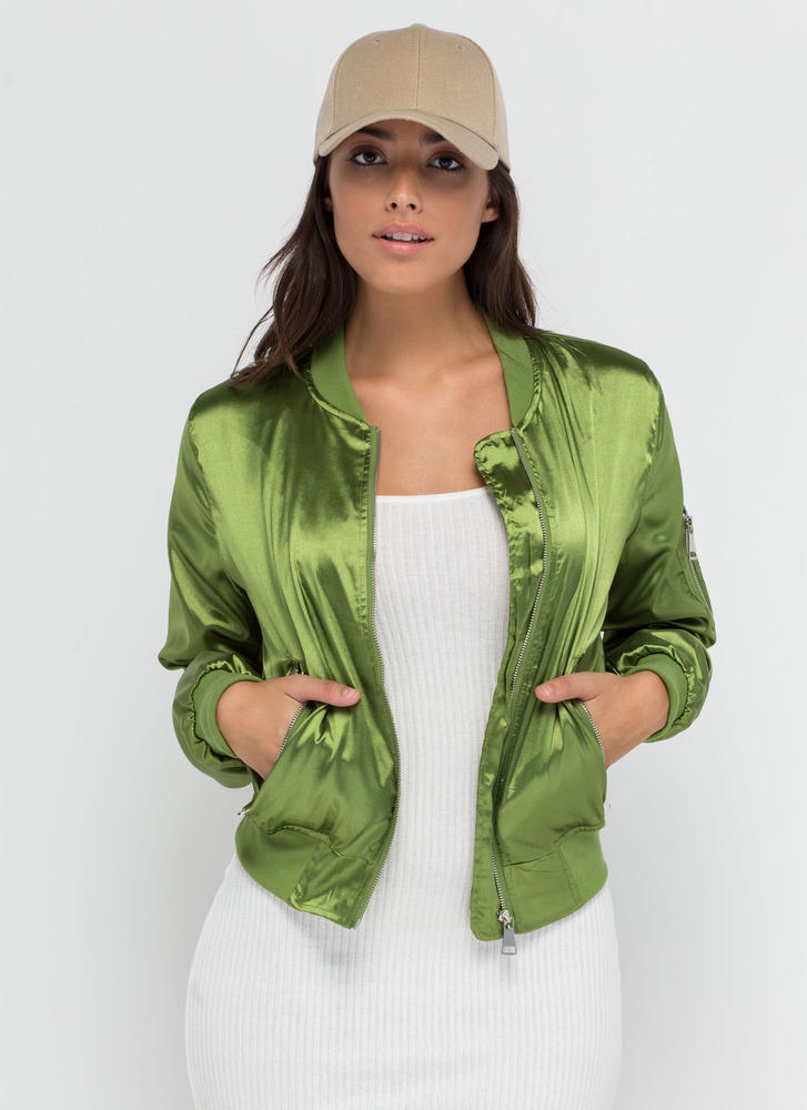 Smooth Flight Bomber Jacket