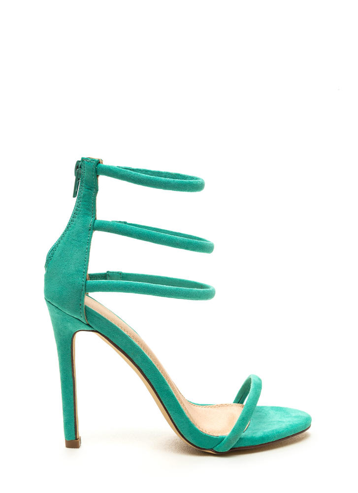 Total Triple Threat Strappy Heels