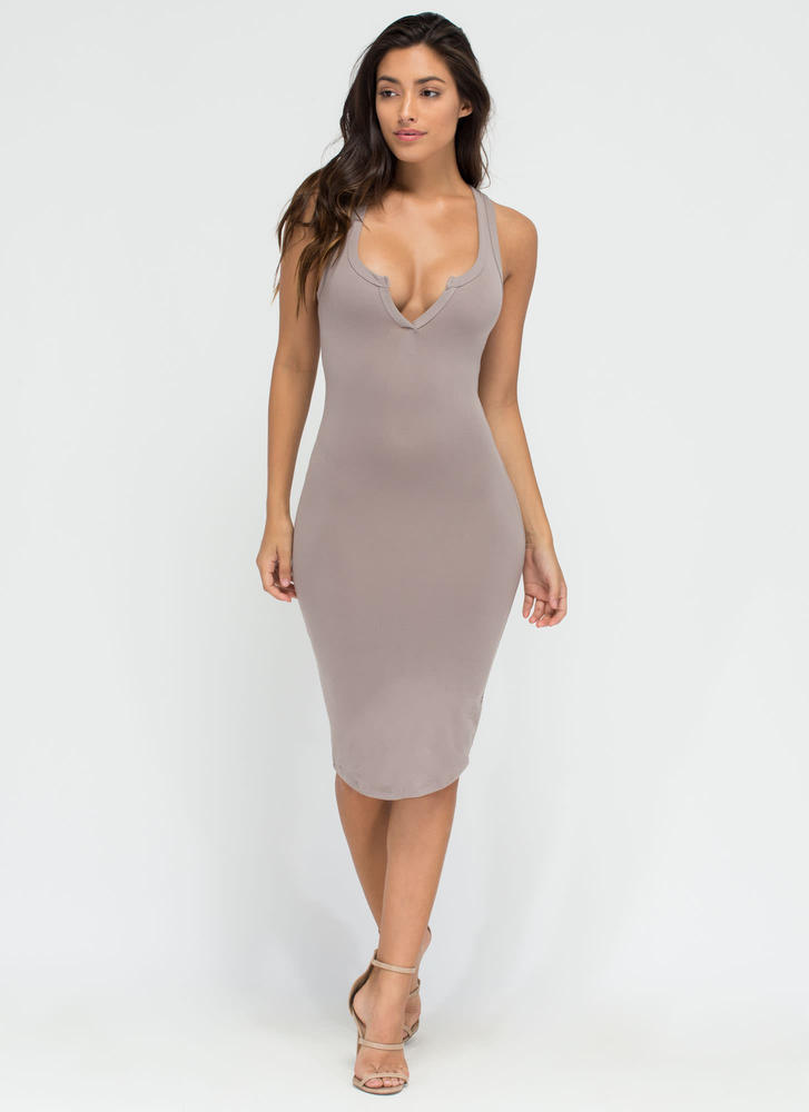 Casual Fling Racerback Tank Dress