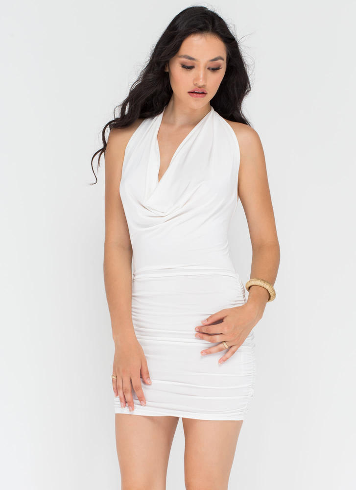 Chain Of My Existence Minidress IVORY