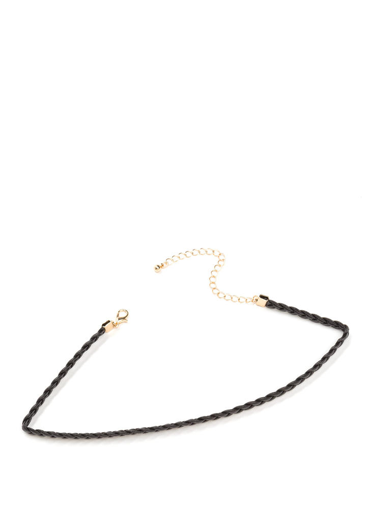 Braided Beauty Skinny Choker