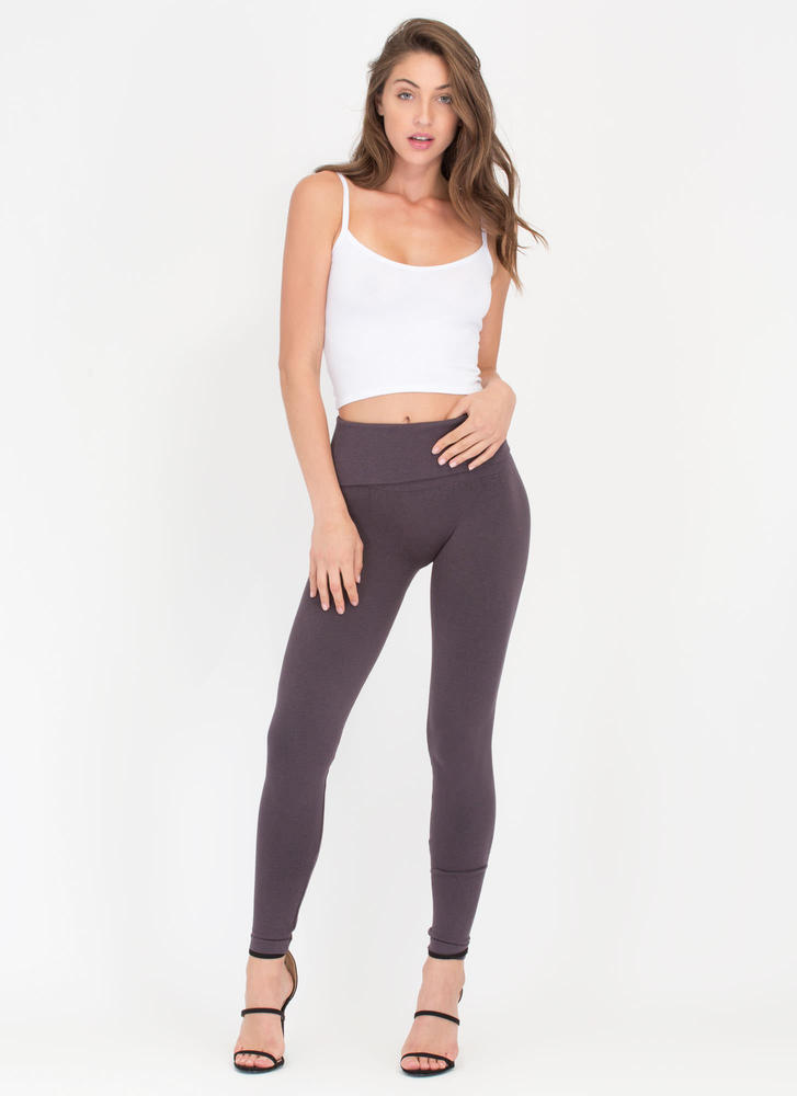 Cozy Lounge Fleecy Leggings