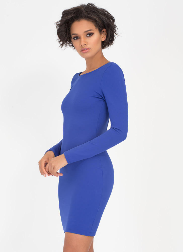 Your One And Only Back Strap Dress ROYAL