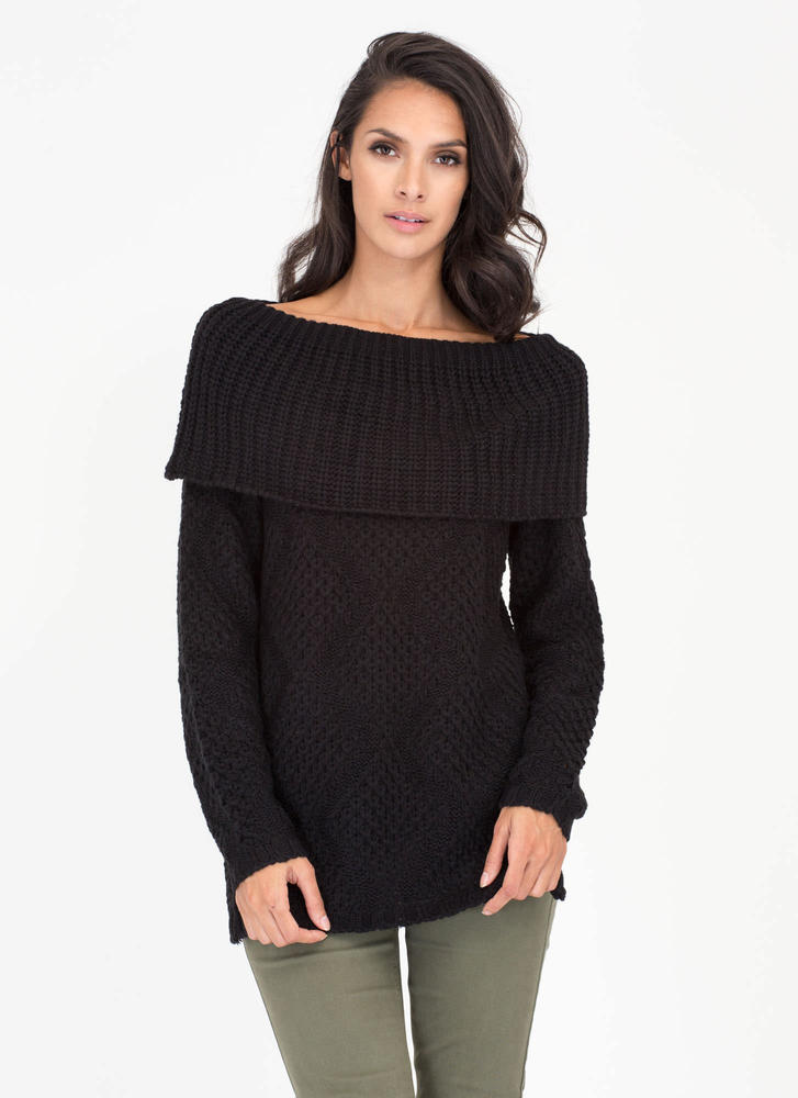 Knit Factor Chunky Turtleneck Sweater