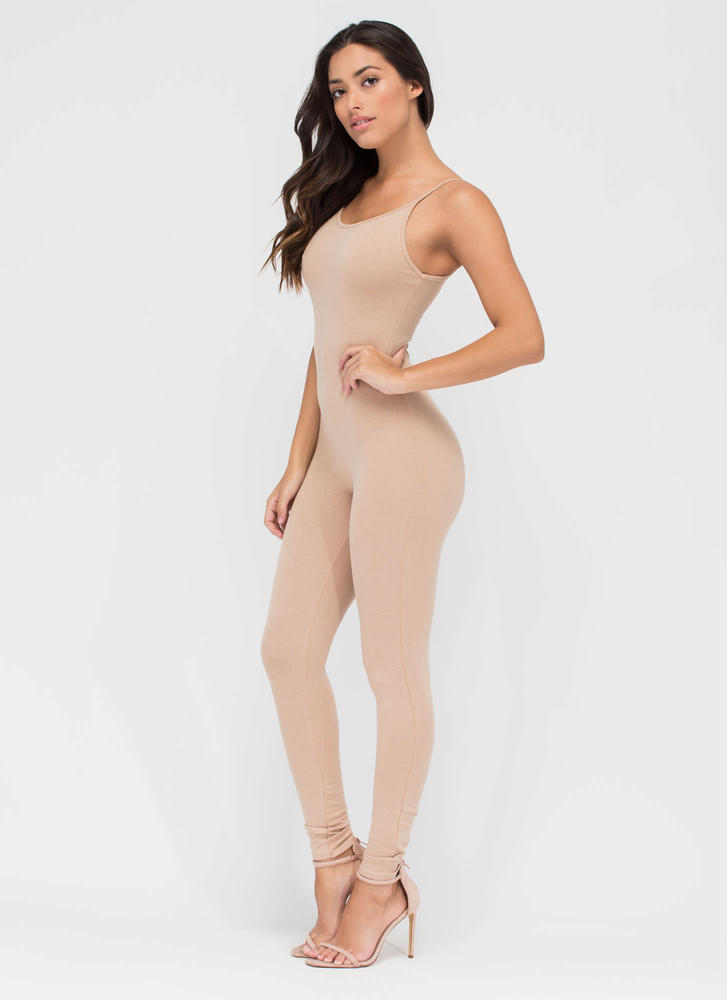 One Woman Show Full Bodysuit NUDE