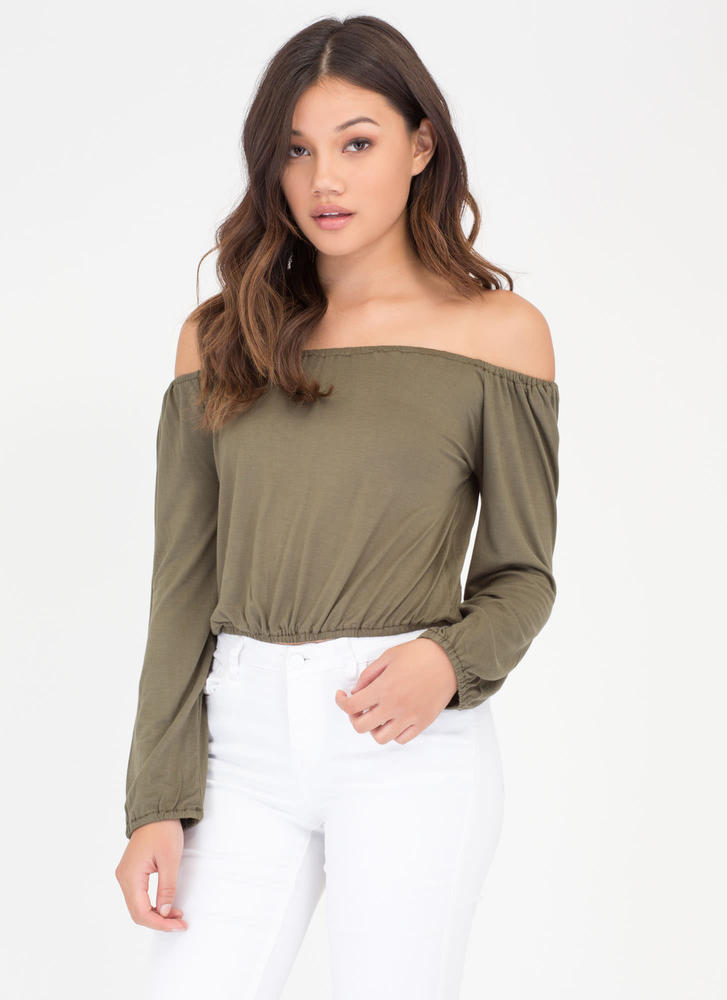 Flirty Fresh Off-The-Shoulder Top