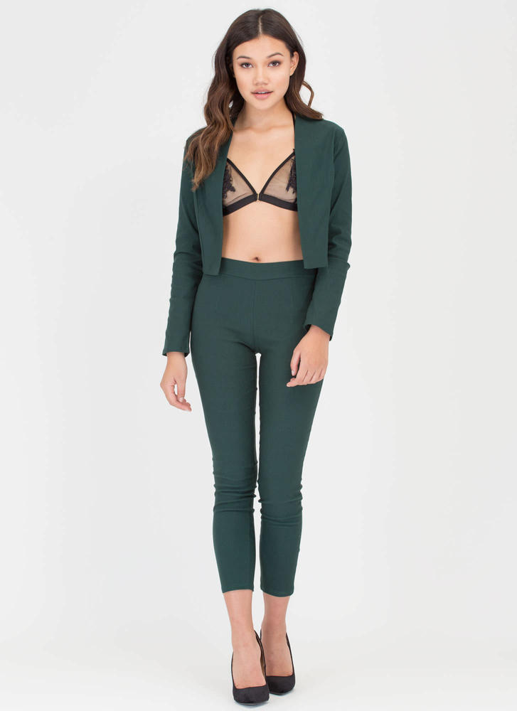 Suit Up Tapered Pants HGREEN