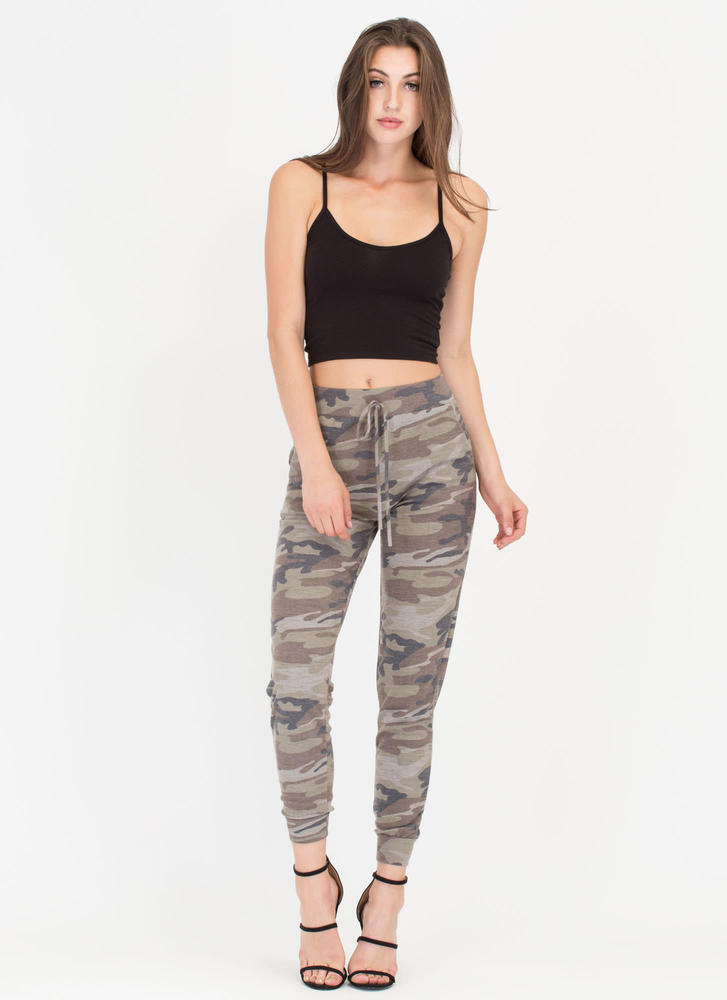 Off Duty Camo Joggers CAMOUFLAGE